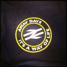 Terrace Life Away Days It's A Way of Life Rail Sign Football Casuals T Shirt AMF