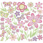 Butterfly  and  Flower Peel  and  Stick Wall Decals