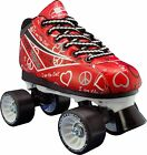 Womens and Children Roller Skates Size 1-10 - Red Pacer Heart Throb Roller
