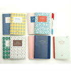 Iconic A6 Weekly Monthly Cash Travel Book Planner Note Journal Scrap Organizer