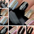Wholesale 2000 Pcs Stud Nail Art 3D Design Decoration Stickers Metallic Studs