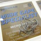 FTD - Drennan Wide Gape Specialist (Eyed) Barbless & Micro Barbed Fishing Hooks
