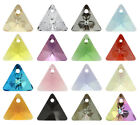 SWAROVSKI ELEMENTS 6628 XILION Triangle Pendant - All Sizes & All Colours