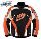 ARCTIVA Men's Orange & Black COMP 7 INSULATED Winter Snowmobile Jacket