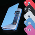 Hot Sale Magnetic Flip Leather Hard Case Cover Protect For Apple iPhone 4G 4S