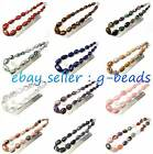 "16--30mm fashion graduated gemstone loose beads strand 17"" jewelery making beads"