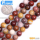 Natural Mookaite Jasper Gemstone Round Beads For Jewelry Making Free Shipping