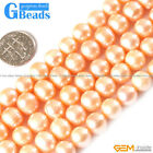 "9-10mm round freshwater pearl gemstone loose beads strand 15""jewelery making"