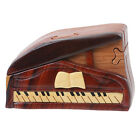 Handcrafted Wooden Musical Instrument Secret Jewelry Puzzle Box - Piano