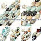 "marquise gemstone mixed amazonite loose beads strands 15""jewelery making"