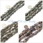 jewelry making 10x14mm 12x16mm freeform chunky gemstone labradorite beads 15""