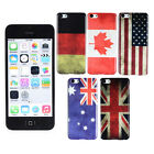 Classical Retro Country National Flag Hard Case Back Cover For Apple iPhone 5c
