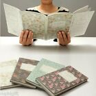 Folding Diary PATTERN-L Monthly Daily Planner Journal Organizer Scheduler Agenda