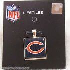 NFL Football Lifetiles Women's Wood Necklace Pendant *SEE TEAM SELECTION* NEW!