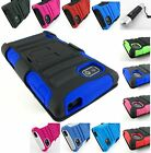 RUGGED ARMORED HYBRID CASE COVER+CLIP HOLSTER FOR LG OPTIMUS F3 PHONE+STYLUS/PEN