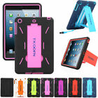 Heavy Duty Shock Proof Armor Wake/Stand Silicone Case Cover Skin For iPad Mini