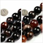 """Natural Round Dream Lace Agate Gemstone Loose Beads Strand 15"""" 16/18/20mm Select"""