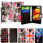 For Huawei Ascend P1 U9200 U9220 Printed Leather Magnetic Flip Case Cover+Stylus