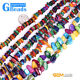 "multicolor shell MOP chips gemstone loose bead strand 15"" 34""jewelery making"