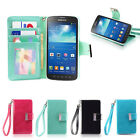 IZENGATE ID Wallet Flip Case PU Leather Cover for Samsung Galaxy S4 Active I9295