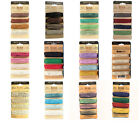 Natural hemp cord mixed colours 1mm 20lb strength for jewellery, craft, macrame
