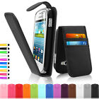 Leather Wallet Pouch Case Cover For Samsung Galaxy Fame S6810 Screen Protector