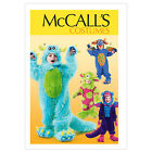 McCall's 6628 OOP Sewing Pattern to MAKE Little Monsters Children's Fancy Dress