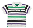 Rocawear Toddler Boys Striped White & Multi Polo Size 2T 3T 4T $32