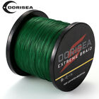 100M 300M 500M 1000M Moss Green PE 4STRANDS  DYNEEMA SPECTRA FISHING BRAID LINE