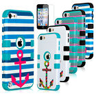 Heavt Duty Hybrid High Impact Hard Case Cover for iPod Touch 5 itouch 5th 5G Gen