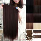 Premium 120G SALON FINEST HAIR EXTENTIONS CLIPS IN girl favor stylish Beautiful