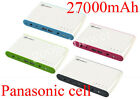 27000mAh External Backup Battery Charger for Apple MacBook 15 17 iPod iPad