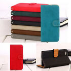 New Luxury Leather Card Flip Wallet Case Cover Pouch Stand For Apple iPhone 5 5G