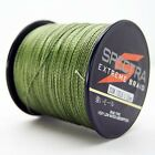 300M Army Green Spectra Super Strong Dyneema PE Braided Sea Fishing Line
