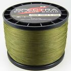 2000M Army Green  Super Strong Dyneema Spectra  PE Braided Sea Fishing Line