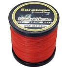 8Strands2000M Red Super Strong Dyneema Saratoga Braided Sea Fishing Line