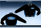 Ford Racing Jacket Light Weight Ripstop Nylon Zip Jacket Adult