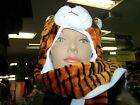 NEW PLUSH CARTOON ANIMAL HAT SCARF LONG MITTEN GLOVES