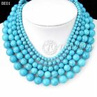 40cm/16inch Blue Synthetic Turquoise Wholesale Beads String