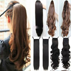 Ductile Clip In Hair Extensions Tie Claw Ponytail Best NEW YEAR Gift for Women