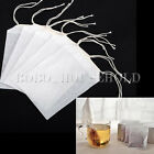 50/100/200pcs Empty Teabags String Seal Filter Paper Herb Loose Tea Bags 5X6.5cm
