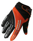 Childrens KIDS Motocross GLOVES Enduro BMX Off Road Racing Cycling KTM Orange