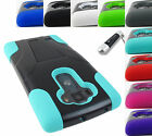 FOR LG G FLEX 2/G2/G3/G VISTA RUGGED T-STAND HYBRID ARMOR CASE COVER+STYLUS/PEN