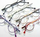 FUTURAMA Odd Round Reading Glasses Spring Temple Red Purple Black Silver Bronze