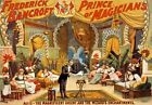 M44 Vintage 1895 Frederick Bancroft Magic Theatre Poster Re-Print A1/A2/A3/A4
