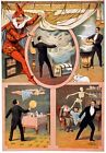 M61 Vintage 1899 Mystery Magic Theatre Poster A1/A2/A3/A4