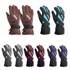 Women Waterproof Winter Cold Ski Riding Motorcycle Ourdoor Warm Gloves Glove Red