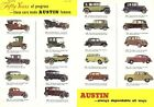 AD31 Vintage Austin Motor Cars Advertising Poster A3/A4 Re-Print