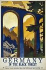 TW81 Vintage 1930's Germany Black Forest German Travel Poster A1/A2/A3/A4