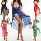 Sexy Metallic Shiny Coloured Chiffon Bikini Cover Up Dress Swimwear Sarong sw020